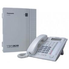 Τηλεφωνικό Κέντρο Panasonic KX-ΤΕΑ308, Συσκευή Panasonic KX-T7730, Κάρτα Αναγνώρισης Κλήσεων KX-TE82494